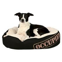 Occupied Cushion 105x75cm sort