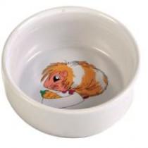 Marsvineskål m/motiv keramik