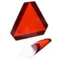 Adv.trekant selvklæbende