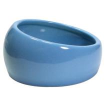 Keramik foderskål Ø10x5cm Blå