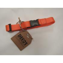 Halsbånd orange 40 cm.