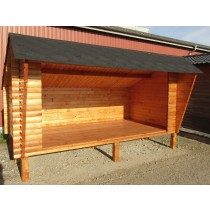 Shelter 2x4x2,55M 50mm