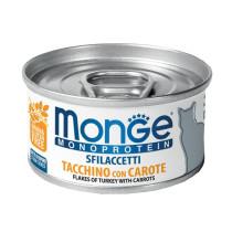 Monge Flakes Turkey/carr 80x24