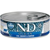 N&D Cat Fisk&Reje 12x85gr