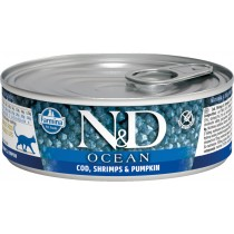 N&D Cat Fisk&Reje 6x85gr