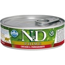 N&D Cat Chicken&pomeg.85gr