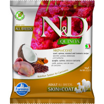 N&D GF Quinoa Skin&Coat Quail