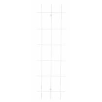 Trådespalie 45x150cm SORT