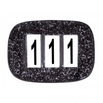 Numbers holder sort glitter