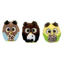 Plys Green Owl 20cm