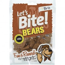 Brit Lets Bite Bears 150gr