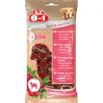 Minis Lamb/Cranberry 8in1 100g