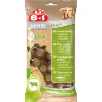 Minis Beef/Apple 8in1 100g