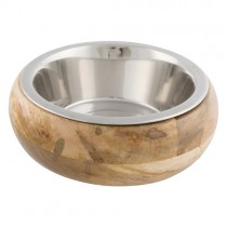 Skål rustfri stål/træ 1,40ltr