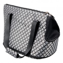 Gordon taske 25x31x42 grå/sort