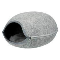 Luna Cuddly Cave filt lyse grå