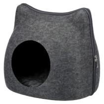 Cat Cuddly Cave filt Anthracit