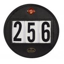 Stævnenummer læder