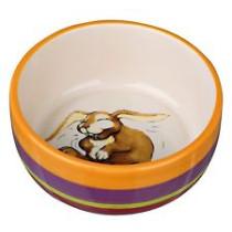 Keramik skål t/kanin 250ml Ø11