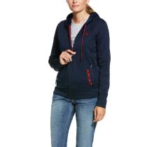 Ariat Keats zip hoodie sort