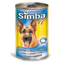 Simba Dog 24x415gr Chick/Turke