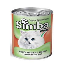 Simba Cat Beef 12x720gr