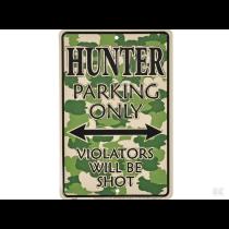 Kun parkering for hobby hunter