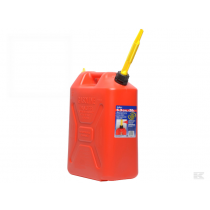 Jerrycan 20ltr Plast rød
