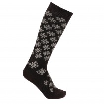Amy snowflake sokker brun