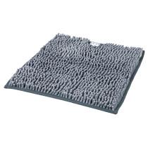 Måtte t/kattebakke 38x38cm grå