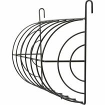Høhæk 25x15cm sort