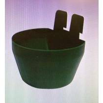 Drikkekar/foderskål grøn